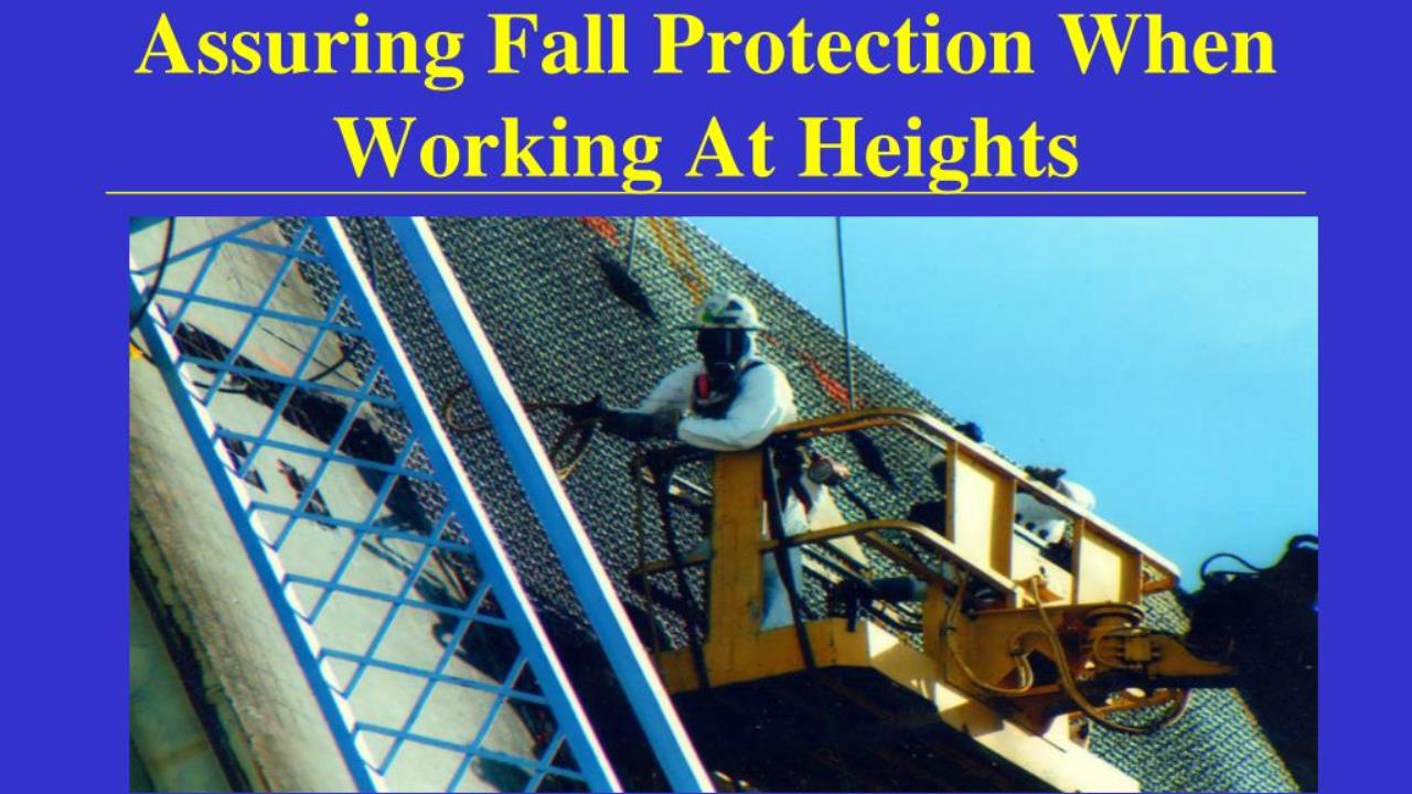 Unit Std 229998: Fall Arrest Techniques when Working at Heights