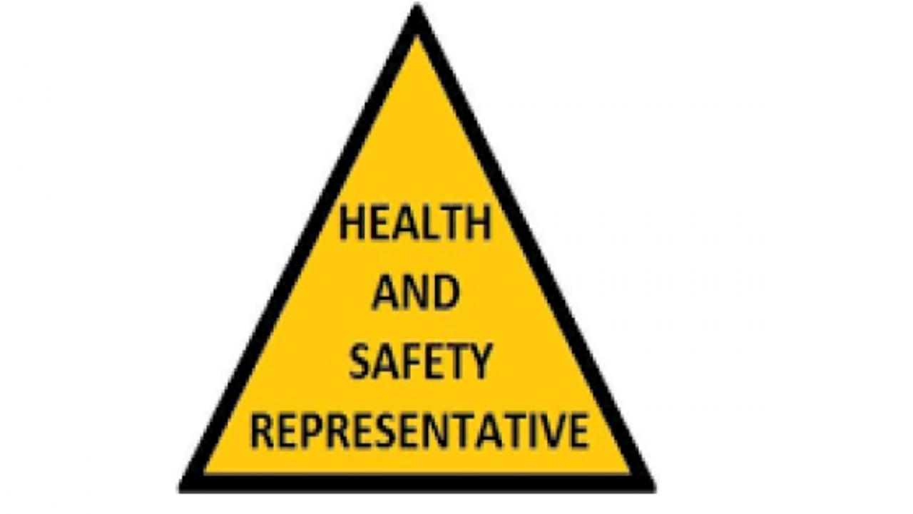 Unit Std 259622: Functions of the workplace Health and Safety Representative